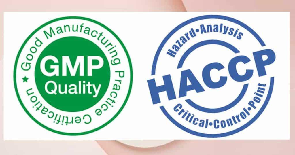 ความแตกต่าง GMP กับ HACCP